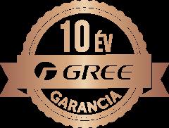 GREE - 10 ÉV GARANCIA